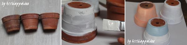 tutorial uno - vasi terracotta dipinti con primer e sfondo