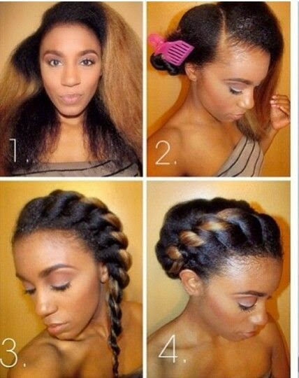 two strand twist hairstyle