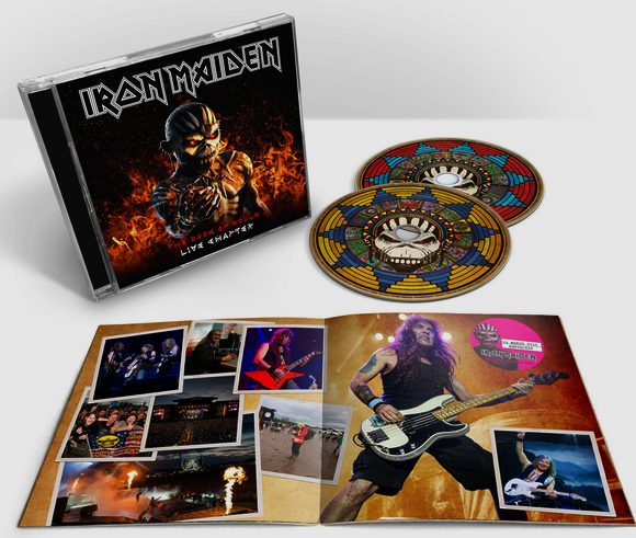 IRON MAIDEN - The Book Of Souls [Live Chapter] (2017) disc