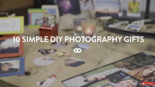 10 Simple DIY Photography Gifts | Perfect for Christmas | COOPH