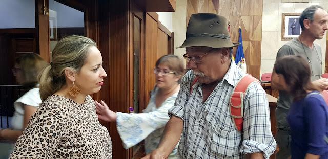 El Cabildo trabaja ya en la organización de la Feria Insular de Artesanía 2020 que se celebrará en la capital coincidiendo con la Bajada