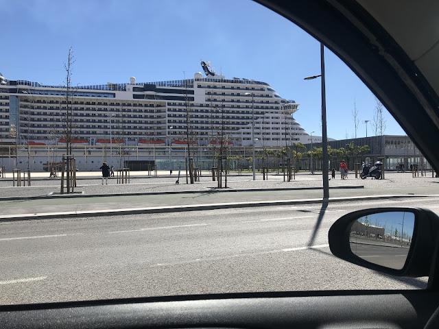 Navio Cruzeiro Bellissima