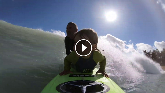 4-year old Barrel gets Barreled