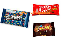 Logo Buona la Vita Nestlè: buoni Lion, KitKat, Smarties