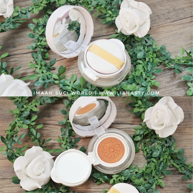 Produk Halal Facial Wipes, Wet Tissue dan Jardin Air Cushion Foundation keluaran Imaan Suci World