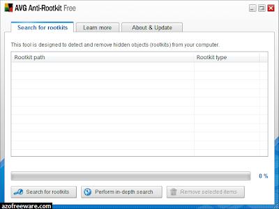 AVG Anti-Rootkit Free