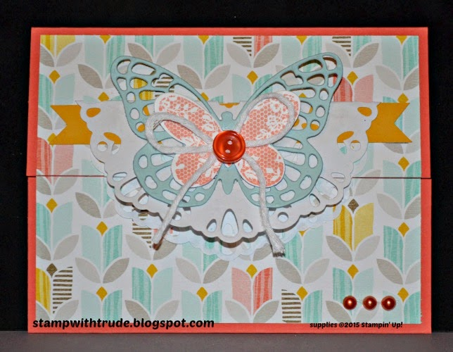 Butterfly Basics, stampwithtrude.blogspot.com, Stampin' Up!, spring card, Sale-A-Bration, free Stampin' Up! products