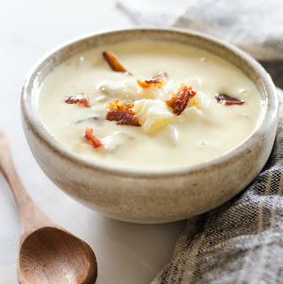 Creamy Potato and Bacon Soup