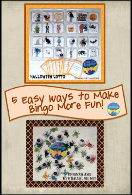 5 easy ways to make bingo more fun for Halloween (and all year round!) Looks-Like-Language