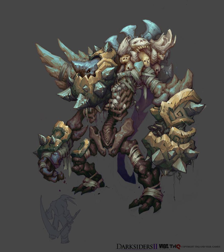 The Lantern Factory: Darksiders 2 - A Bone Giant