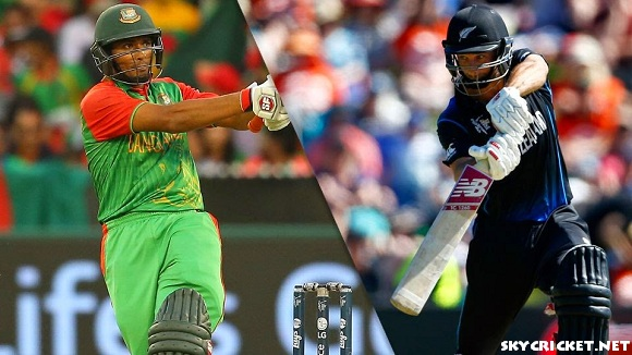 Live Bangladesh tour of New Zealand ODI series