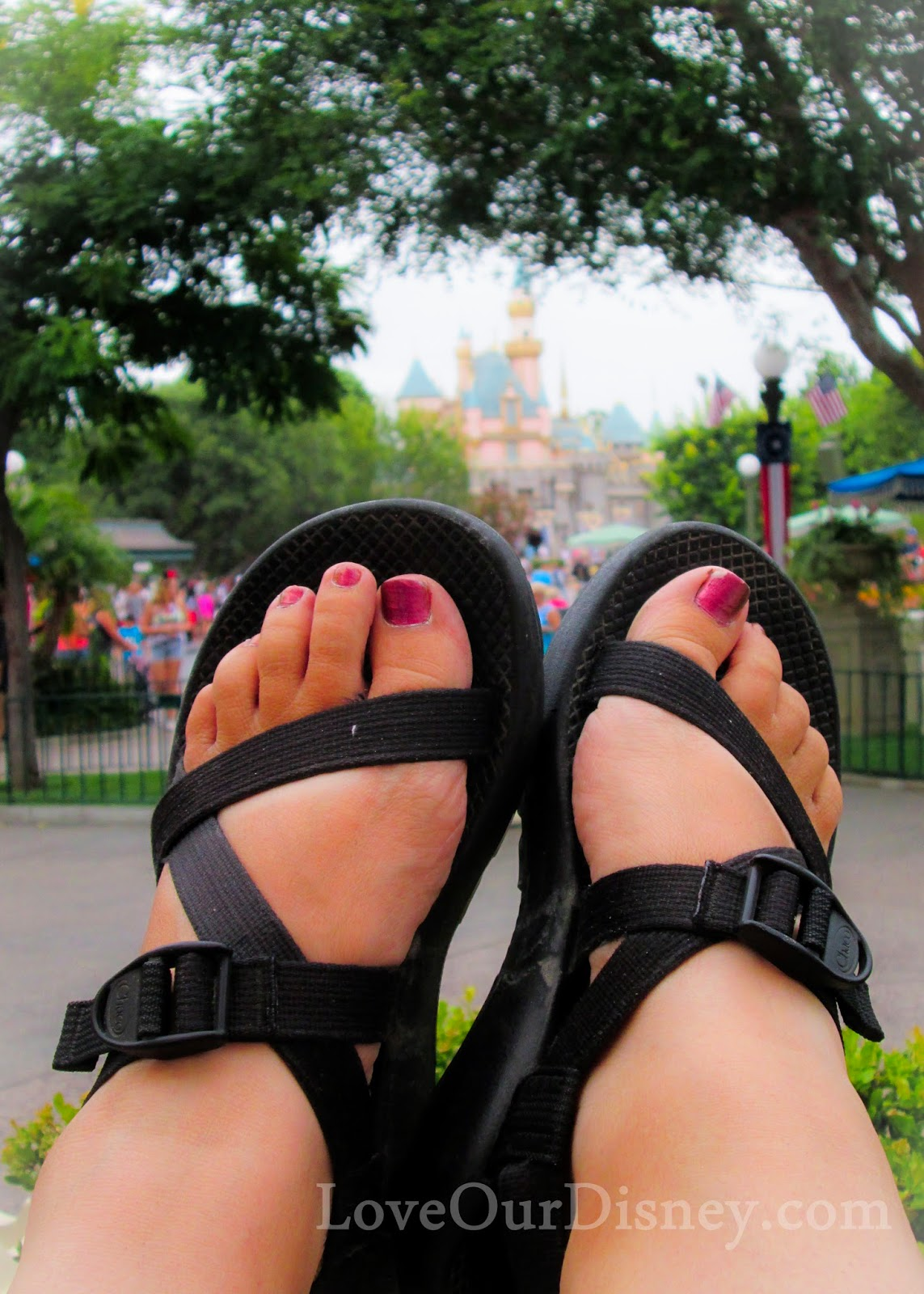 What are the best shoes for Disney vacations? Learn how to keep your feet happy at Disney. LoveOurDisney.com