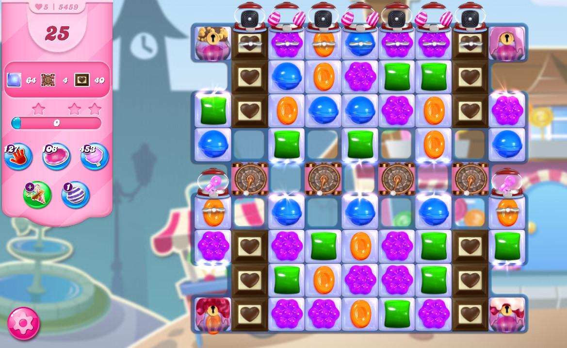Candy Crush Saga level 5459