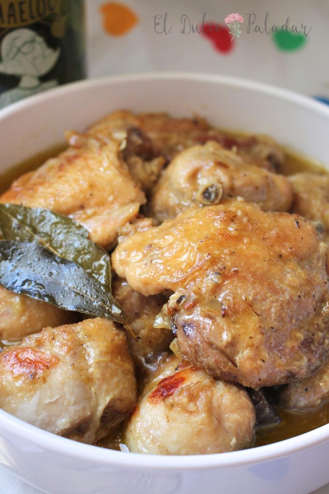 Pollo Guisado Muy Fácil El Dulce Paladar