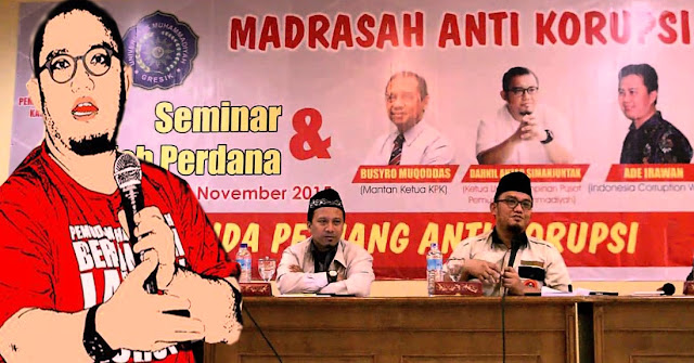 Lahirnya Madrasah Anti Korupsi Gagasan Dahnil Anzar Simanjuntak