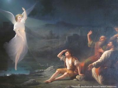 Versos da Bíblia sobre os Anjos - Mensageiros Celestiais de Deus