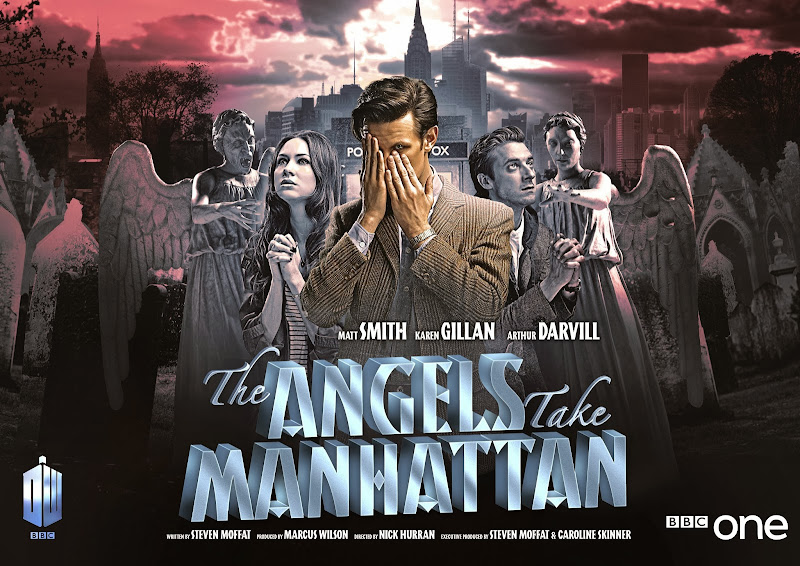 Doctor Who The Angels Take Manhattan poster