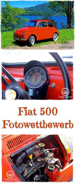 Gartenblog Topfgartenwelt Fiat 500 Oldtimer: Fotowettbewerb 2017 #oldtimer #fiat500 #fotowettbewerb #sonntagsfahrt