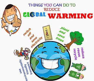Lakukan apa yang kamu bisa untuk pemanasan global