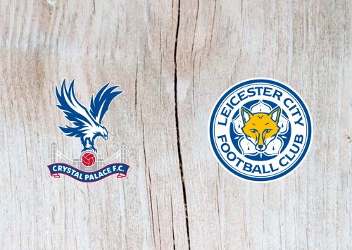 Crystal Palace vs Leicester Full Match & Highlights 15 December 2018