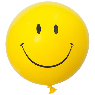 Smiley Face Balloon from the Oh Happy Day! Shop