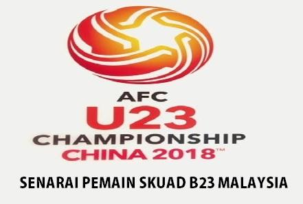 Skuad Bawah 23 Tahun Malaysia 2018