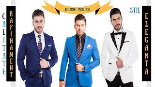Costume Ricardo Montesi pentru bărbați puternici și stilați!