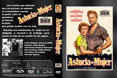 Carátula dvd: Astucia de mujer (1953)
