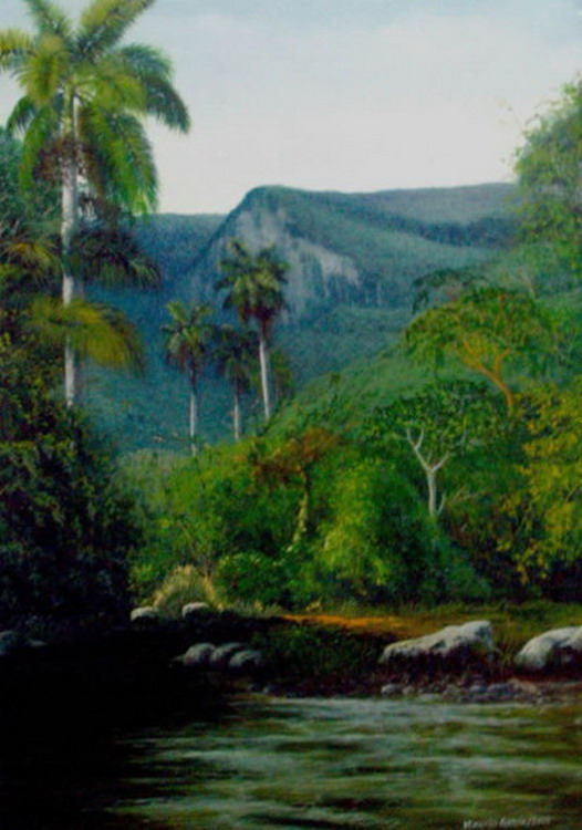 Imgenes Arte Pinturas Realismo extremo paisajes