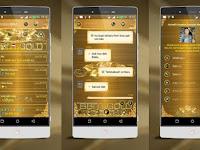 BBM MOD LUXURY GOLD Apk