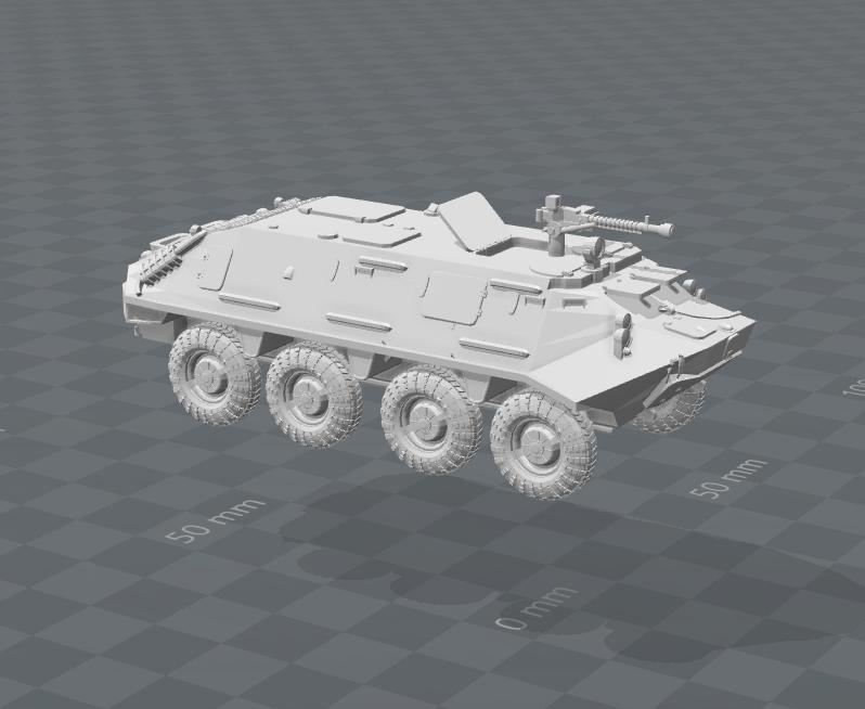 BTR60 PA Soviet Naval Marines
