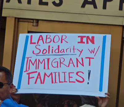 "an introduction to immigration labor unions Part 1: the neoliberal war on unions karl marx observed in 1865 that wage levels can only be ""settled by the continuous struggle between capital and labor, the."