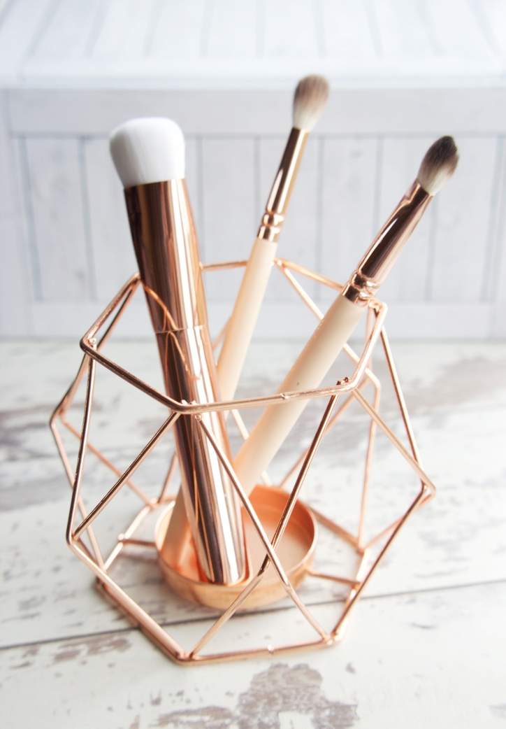 New Look Copper Candle Holder