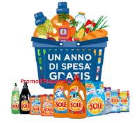 Logo Festa del Sole - Sole ti regala un anno di spesa gratis e 73 forniture di prodotti