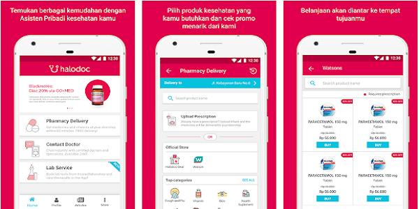 Aplikasi Kesehatan Halodoc