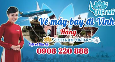 Vé máy bay đi Vinh hãng Vietnam Airlines
