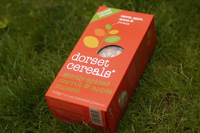 Dorset Cereals gently spiced carrot and apple muesli review