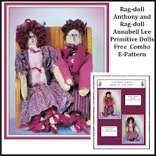 Rag-doll Annabell Lee & Rag-doll Anthony Free <br>E-Patterns