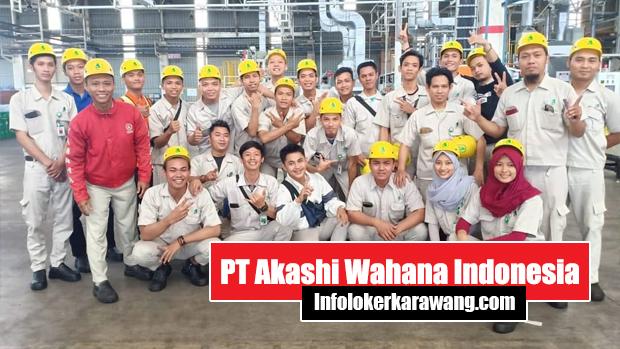Lowongan Kerja PT Akashi Wahana Indonesia Karawang