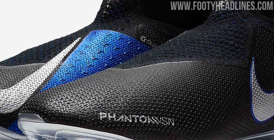 Black   Blue   Silver Nike Phantom Vision 2018-2019 Boots Leaked ... aaee1b3705b