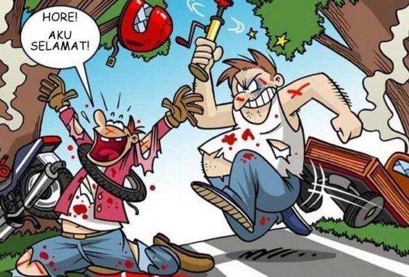 Hal Sepele Ini Sering Jadi Pemicu Kecelakaan Di Jalan Raya