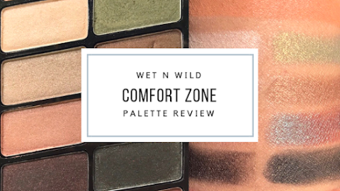 Wet n Wild Comfort Zone Color Icon Eyeshadow 10 Pan Palette | Review & EOTD