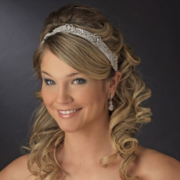 Wedding Hairstyles: Elegant Wedding Hairstyles With A Ribbon
