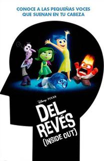 Película Del revés, de Walt Disney y Pixar - Cine de Escritor