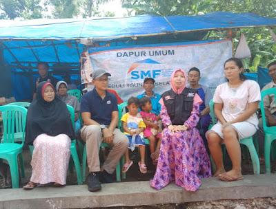 Dapur Umum SMF-ACT Untuk Ringankan Beban Korban Tsunami Lampung Selatan