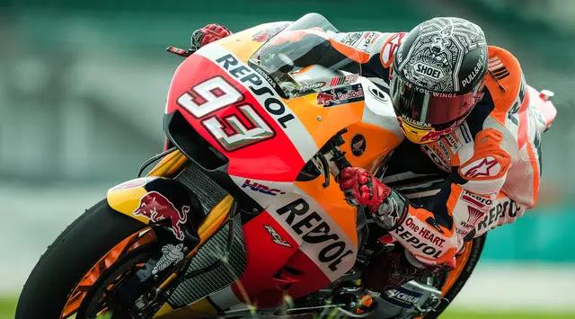 12 Kali Jatuh di MotoGP 2017, Marquez Dapat Sasis Baru