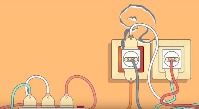 inilah Penyebab terjadinya korsleting listrik dan cara mengatasinya