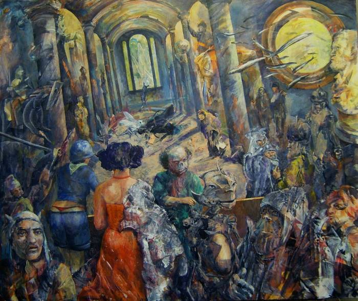 Немецкий художник. Knut-Peter Hoffmann