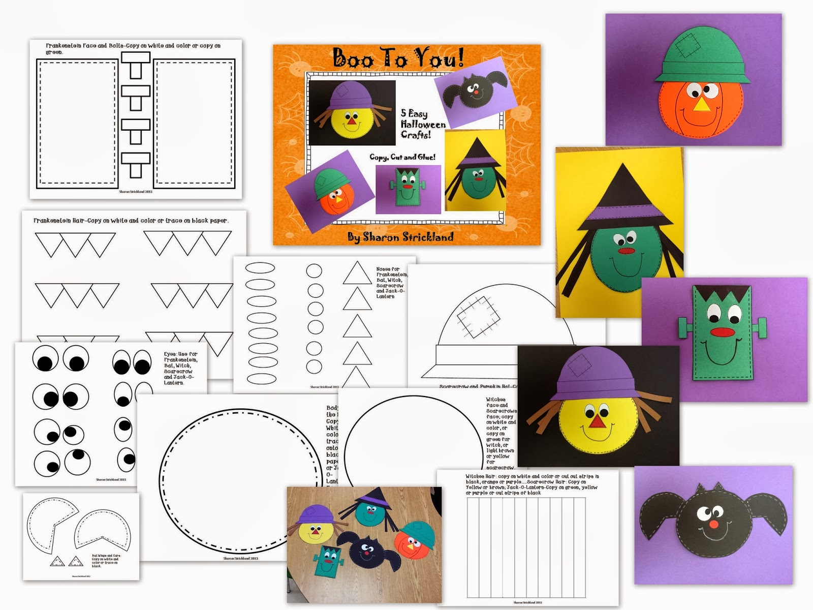 Super Second Grade Smarties Halloween Crafts And A Freebie