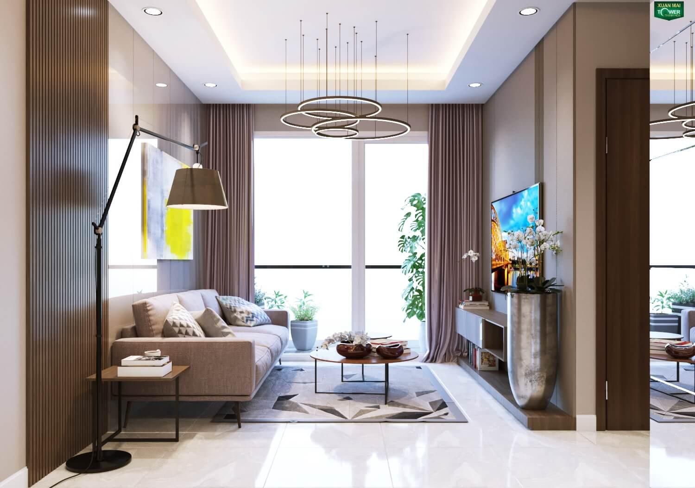 Hình ảnh căn hộ mẫu chung cư Xuân Mai Thanh Hoá